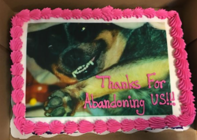 14 farewellcakes - 15 Hilarious Farewell Cakes That Go Too Far