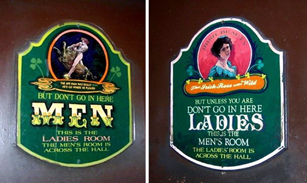 14a funnybathroomsigns - 16 Hilarious and Clever Bathroom Signs