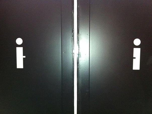 16a funnybathroomsigns - 16 Hilarious and Clever Bathroom Signs