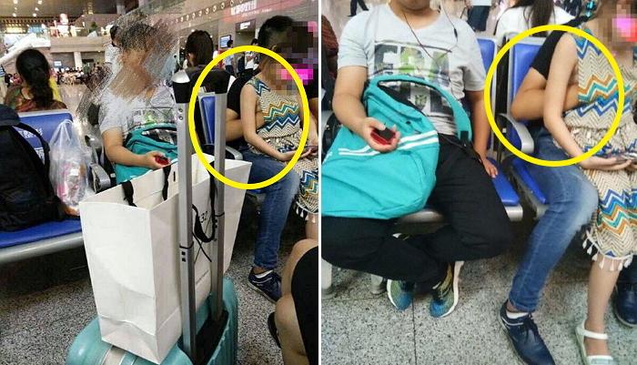 18e32si0d9u0ec295xu7 - 지하철역에서 대놓고 어린 여동생 '성추행'한 20살 오빠