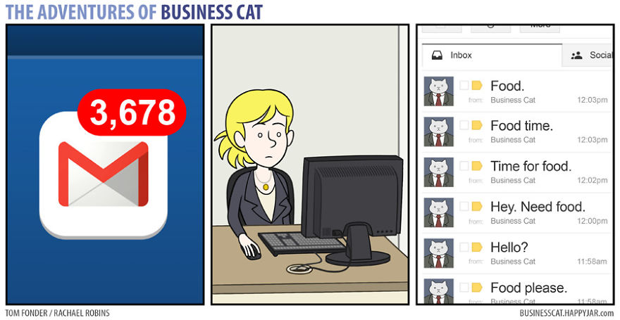 3 18 - What if your BOSS was a CAT? (10+ genius photos)