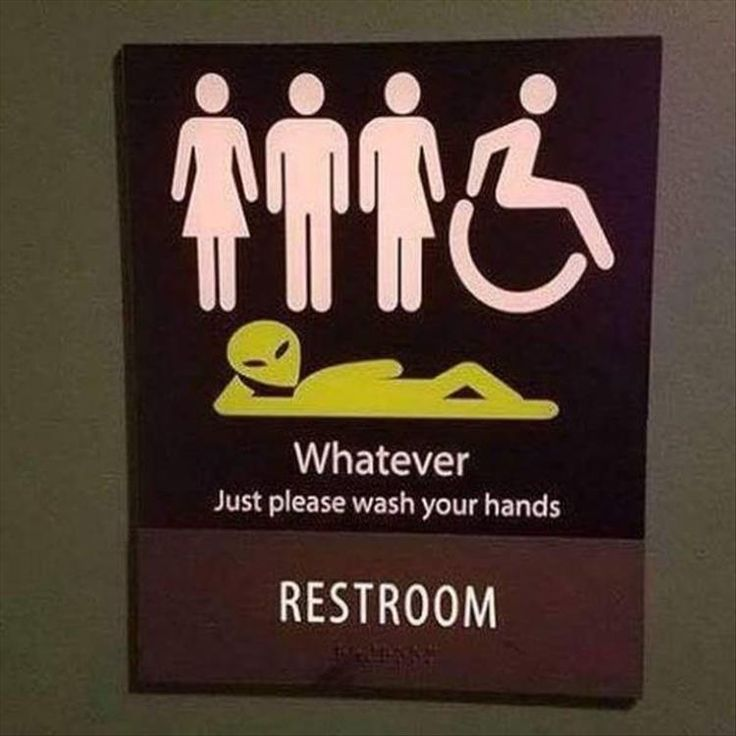 4b funnybathroomsigns - 16 Hilarious and Clever Bathroom Signs