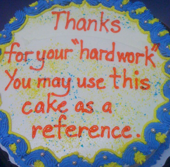 6 farewellcakes - 15 Hilarious Farewell Cakes That Go Too Far