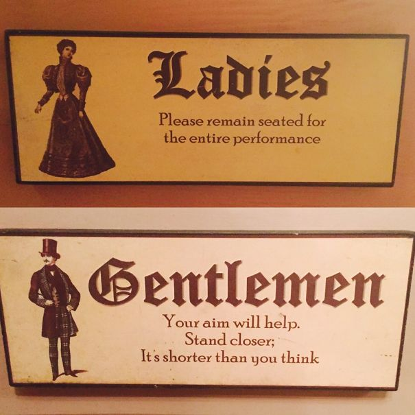 6a funnybathroomsigns - 16 Hilarious and Clever Bathroom Signs