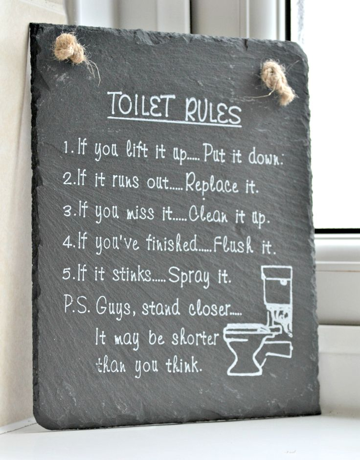 6b funnybathroomsigns - 16 Hilarious and Clever Bathroom Signs