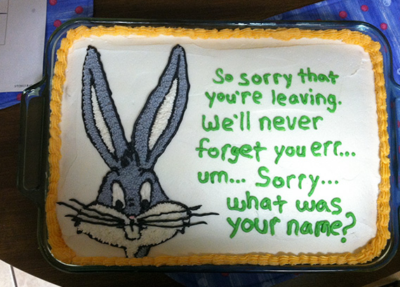 7 farewellcakes - 15 Hilarious Farewell Cakes That Go Too Far