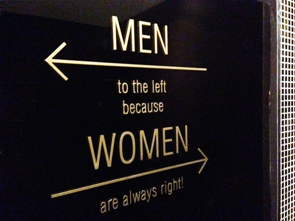 8a funnybathroomsigns - 16 Hilarious and Clever Bathroom Signs