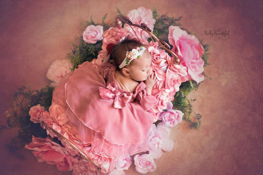 ec98a4eba19ceb9dbc - 디즈니 공주님으로 변신한 6명의 사랑스러운 아기들 (사진)
