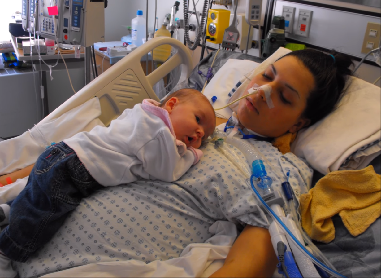 img 59967d95410ca - Mom Becomes Unconscious After Recovering Fully After Giving Birth. Her Effort To Get Well Makes A Miracle