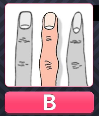 img 59a53b8515c95 - [性格診断] 人差し指を見てください!指の形で調べる性格テスト!