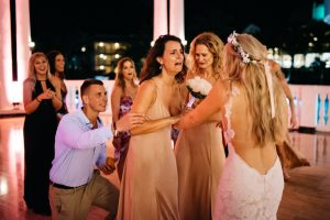 jessjamesweddingf 11 300x200 - Bride Is About To Throw Bouquet, But Suddenly, A Man Takes It And Goes Down On His Knees