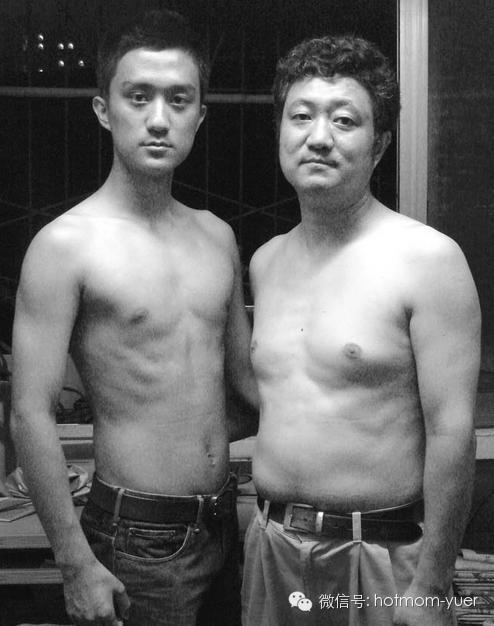ntd father and son 2005 - 무려 '27년'간 매년 아들과 같은 사진을 찍은 아버지 (사진)