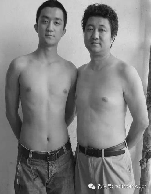 ntd father and son 2006 - 무려 '27년'간 매년 아들과 같은 사진을 찍은 아버지 (사진)