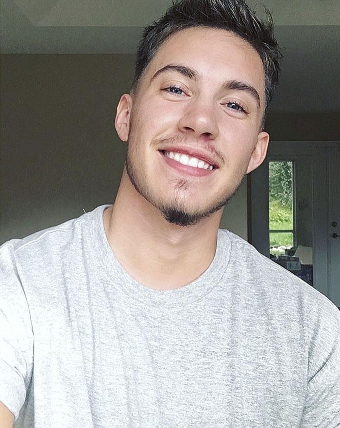 transgender man before and after jamie wilson 597ed23225c17  700 - 친구와 가족을 잃은 남자... SNS에 자신의 놀라운 '과거' 사진을 올렸다