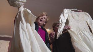 weddingdressmixup 300x169 - Bride Gets Mom's Old Dress. When She Grabs Scissors, Mom Immediately Breaks Down Into Tears
