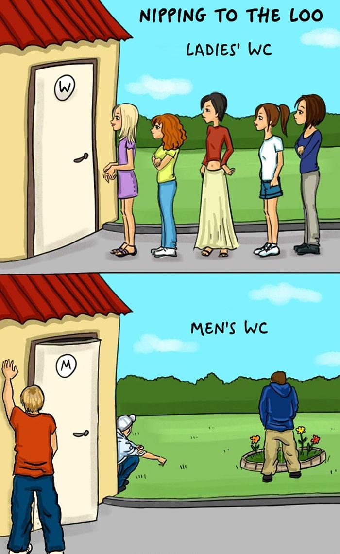 1709170205 - 모두가 공감할 남자와 여자의 차이점 (일러스트 9장)