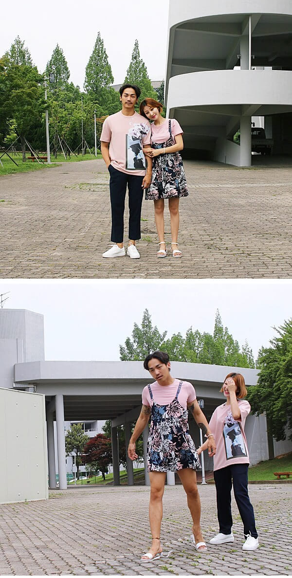 2 2 - 情侶拍照沒梗?試試「換換愛」衣著法,俏皮閃光拍照方式讓朋友看了「不舒服!墨鏡拿來!」