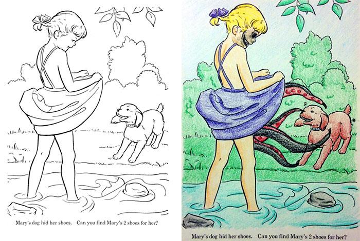 adults coloring childrens books 103 59919abcc57db  700 - 동심파괴 주의! 어린이용 '컬러링북'을 어른이 하면 벌어지는 일 (사진 16장)