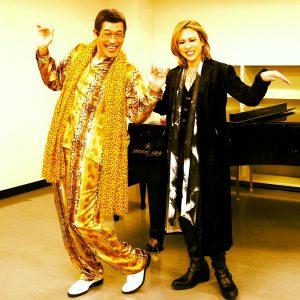 c005ujauuaaj9gy 300x300 - X-JAPANのYOSHIKIとピコ太郎がガチでコラボ?曲名は 「Forever PPAP」