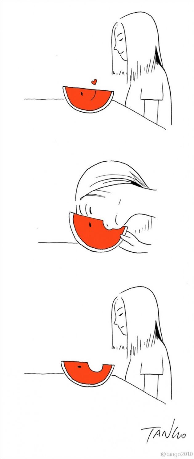 comic strips by tango 12 - 세상을 귀엽고 재치있게 표현하는 작가 '상하이 탱고' 연재 만화 16편