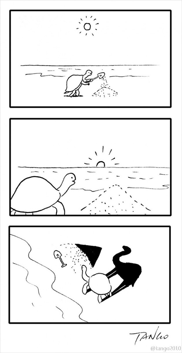 comic strips by tango 14 - 세상을 귀엽고 재치있게 표현하는 작가 '상하이 탱고' 연재 만화 16편