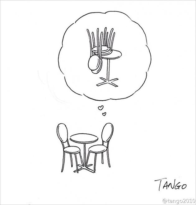 comic strips by tango 2 - 세상을 귀엽고 재치있게 표현하는 작가 '상하이 탱고' 연재 만화 16편
