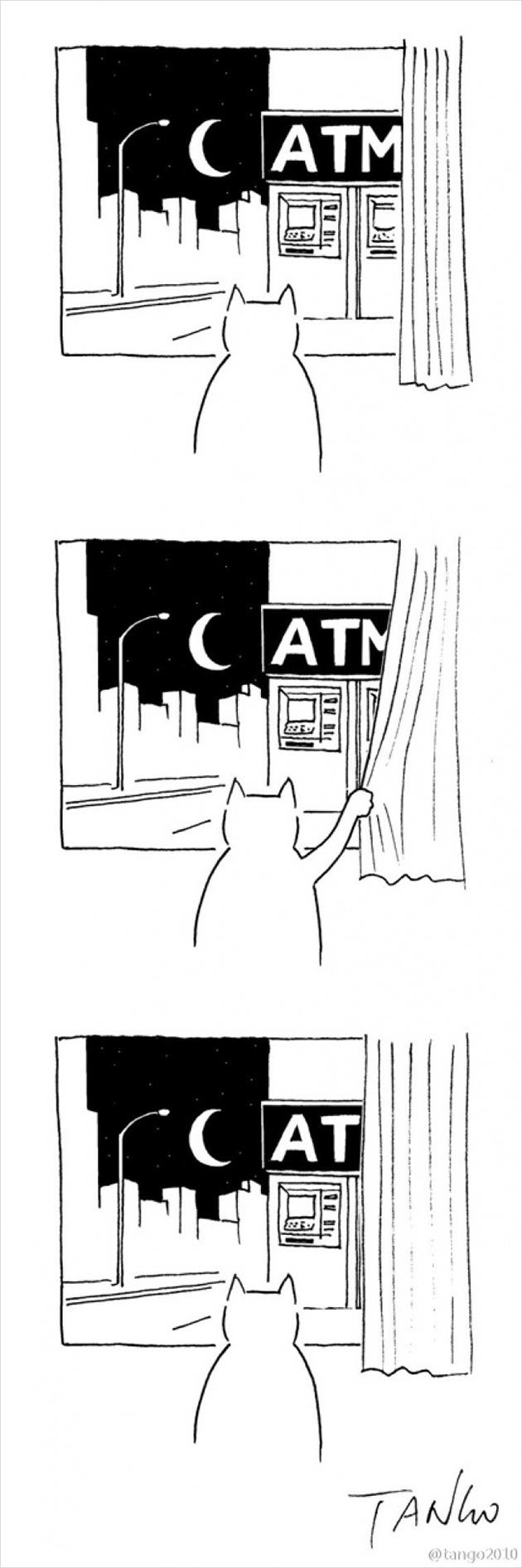 comic strips by tango 3 - 세상을 귀엽고 재치있게 표현하는 작가 '상하이 탱고' 연재 만화 16편