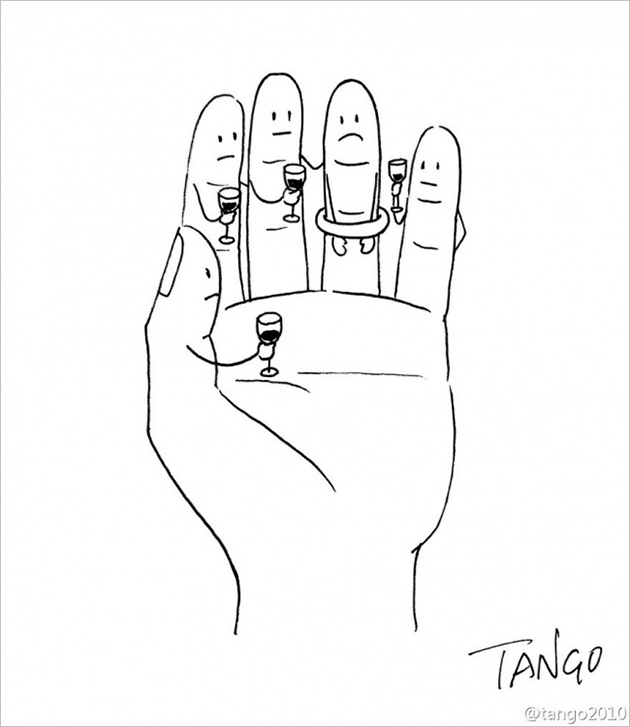 comic strips by tango 6 - 세상을 귀엽고 재치있게 표현하는 작가 '상하이 탱고' 연재 만화 16편