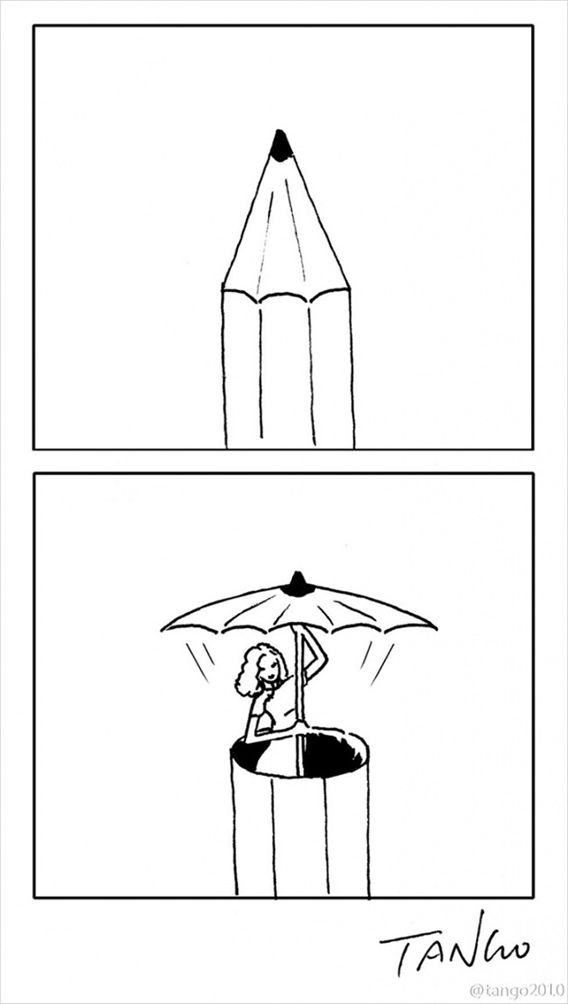 comic strips by tango 7 - 세상을 귀엽고 재치있게 표현하는 작가 '상하이 탱고' 연재 만화 16편