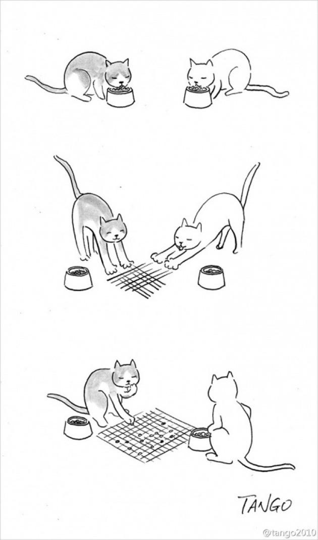 comic strips by tango 8 - 세상을 귀엽고 재치있게 표현하는 작가 '상하이 탱고' 연재 만화 16편