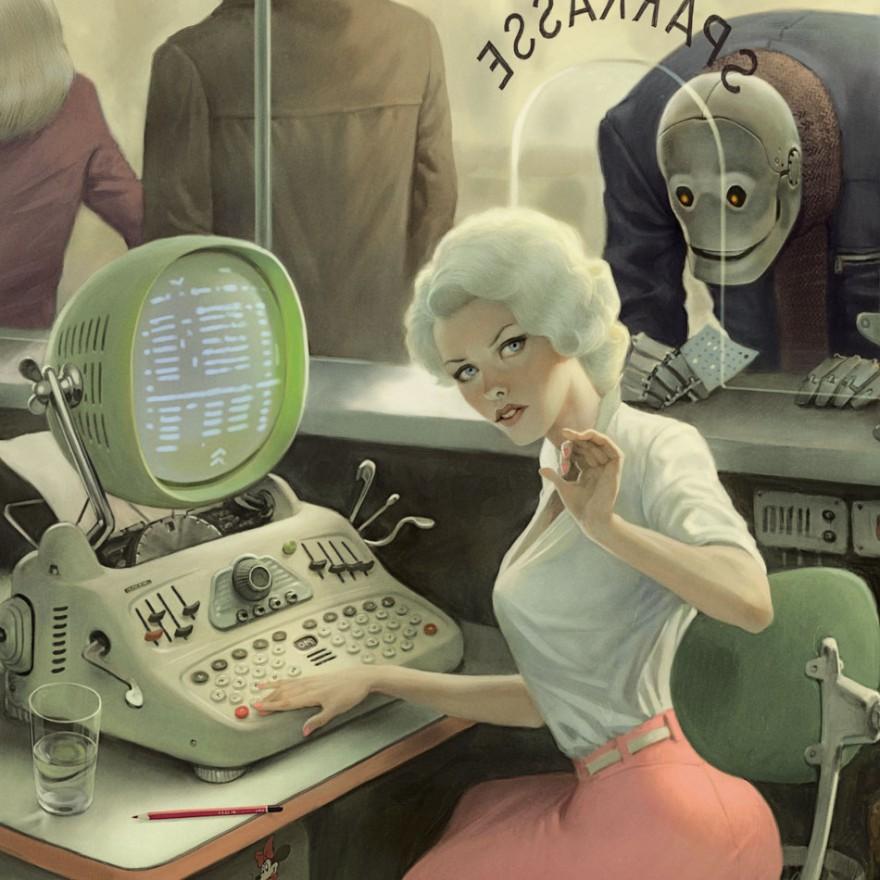 dark surreal digital art waldemar von kozak 19 - '숨겨진 사회적 메시지' 담은 러시아 일러스트레이터의 작품 (사진 15장)
