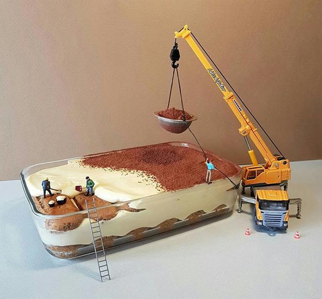 """dessert miniatures pastry chef matteo stucchi 1 - """"너무 깜찍해!"""" 달콤한 디저트 속 펼쳐진 작은 세상 (사진10장)"""