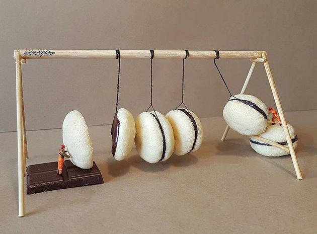 """dessert miniatures pastry chef matteo stucchi 2 - """"너무 깜찍해!"""" 달콤한 디저트 속 펼쳐진 작은 세상 (사진10장)"""