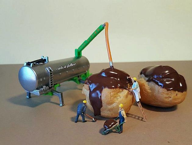 """dessert miniatures pastry chef matteo stucchi 7 - """"너무 깜찍해!"""" 달콤한 디저트 속 펼쳐진 작은 세상 (사진10장)"""