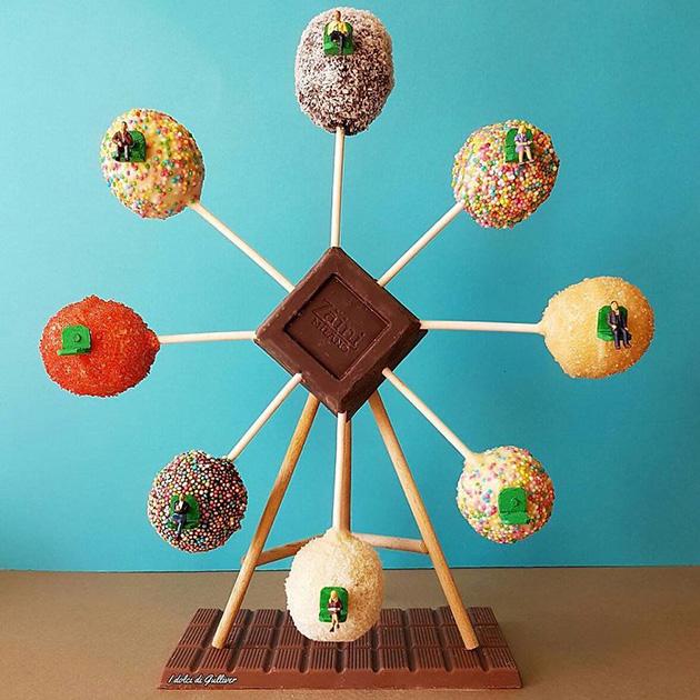 """dessert miniatures pastry chef matteo stucchi 8 - """"너무 깜찍해!"""" 달콤한 디저트 속 펼쳐진 작은 세상 (사진10장)"""