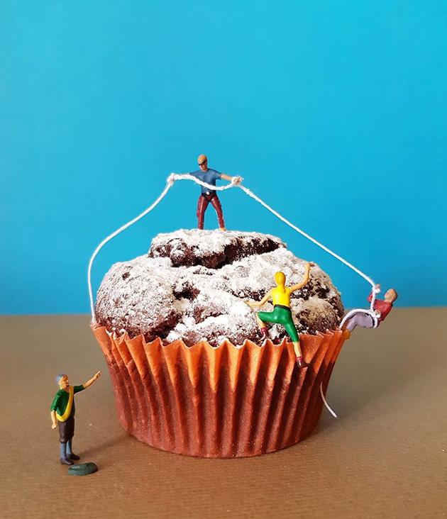 """dessert miniatures pastry chef matteo stucchi 9 - """"너무 깜찍해!"""" 달콤한 디저트 속 펼쳐진 작은 세상 (사진10장)"""
