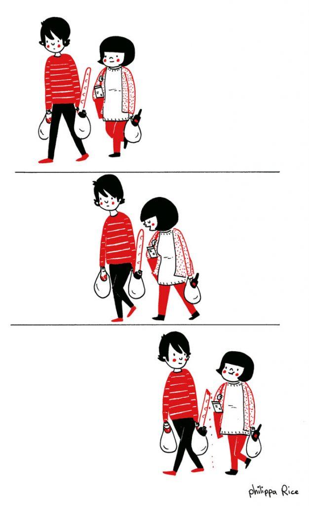 everyday love comics illustrations soppy philippa rice 101 626x1024 - '소소한 사랑의 순간' 보여주는 '생활 밀착' 일러스트(사진 25장)