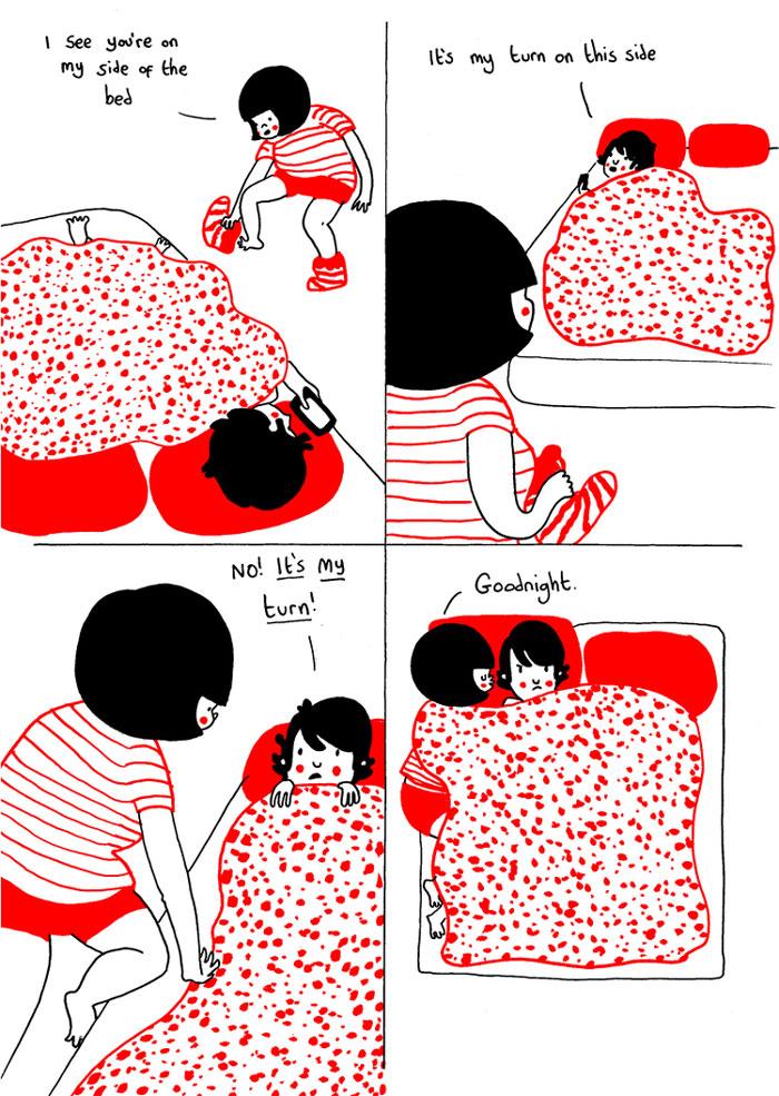 everyday love comics illustrations soppy philippa rice 141 - '소소한 사랑의 순간' 보여주는 '생활 밀착' 일러스트(사진 25장)