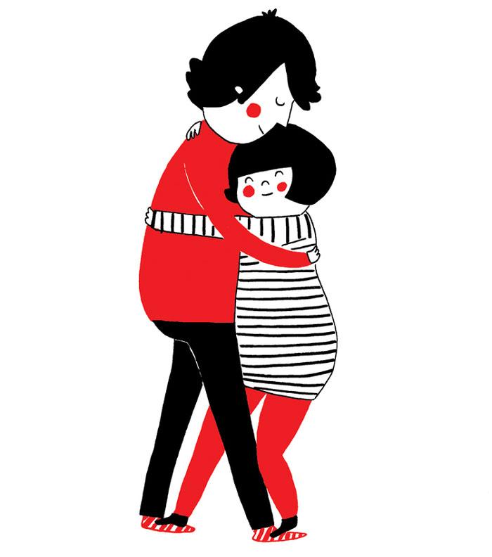 everyday love comics illustrations soppy philippa rice 191 - '소소한 사랑의 순간' 보여주는 '생활 밀착' 일러스트(사진 25장)
