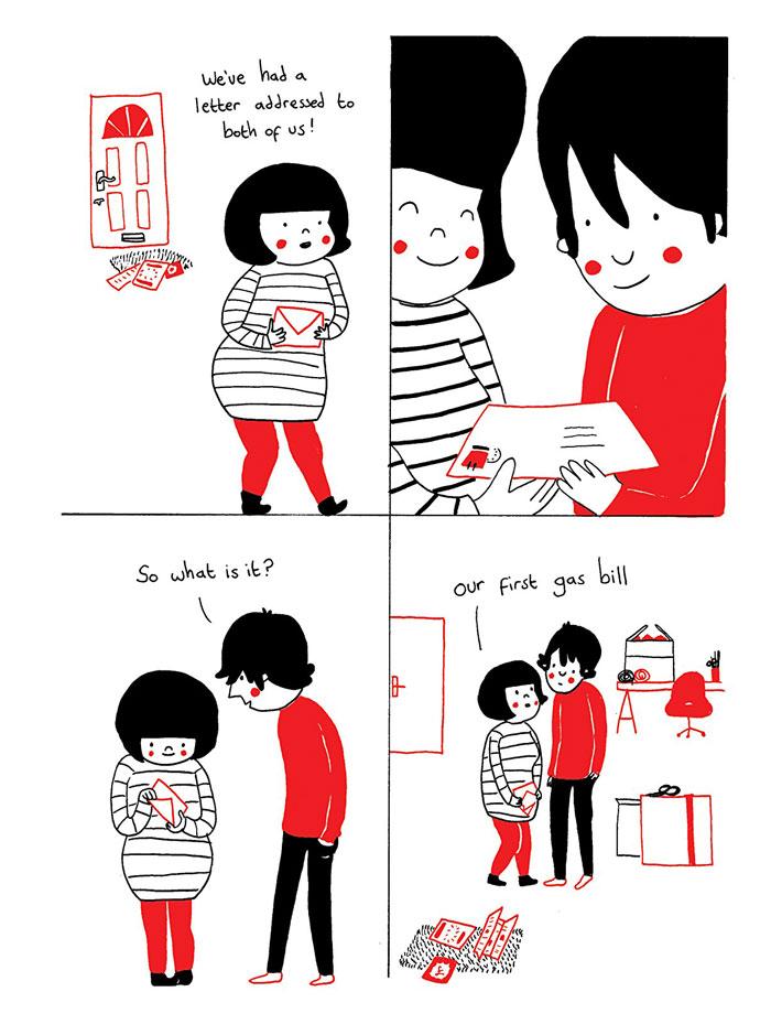 everyday love comics illustrations soppy philippa rice 221 - '소소한 사랑의 순간' 보여주는 '생활 밀착' 일러스트(사진 25장)