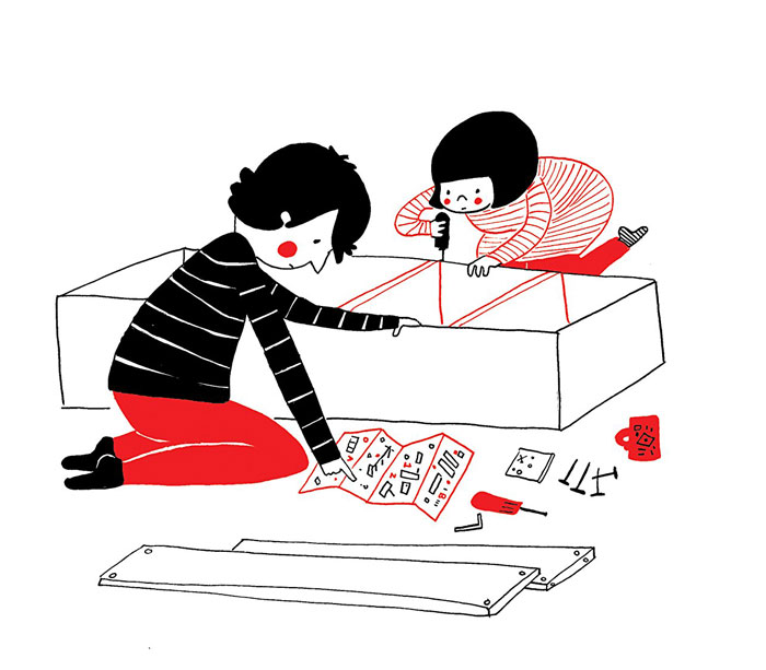 everyday love comics illustrations soppy philippa rice 241 - '소소한 사랑의 순간' 보여주는 '생활 밀착' 일러스트(사진 25장)