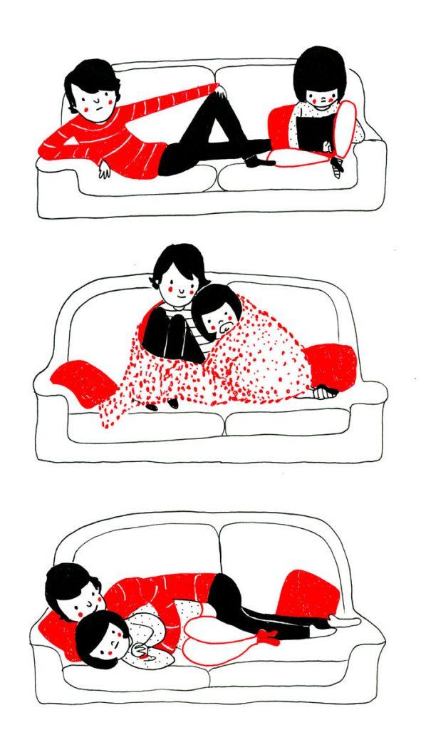 everyday love comics illustrations soppy philippa rice 281 591x1024 - '소소한 사랑의 순간' 보여주는 '생활 밀착' 일러스트(사진 25장)