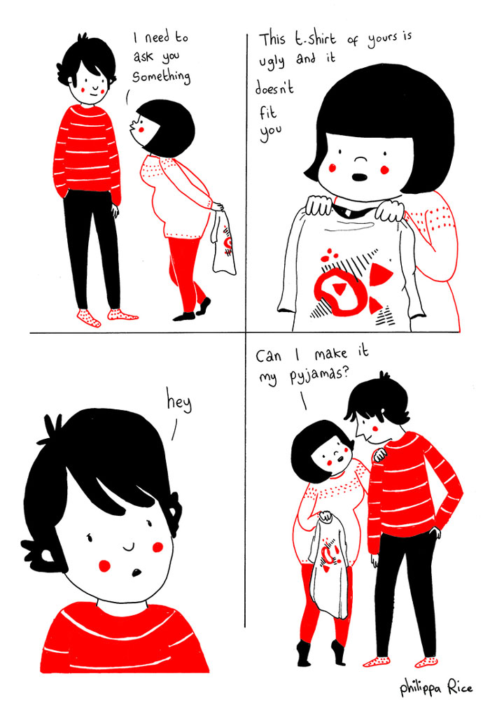 everyday love comics illustrations soppy philippa rice 311 - '소소한 사랑의 순간' 보여주는 '생활 밀착' 일러스트(사진 25장)