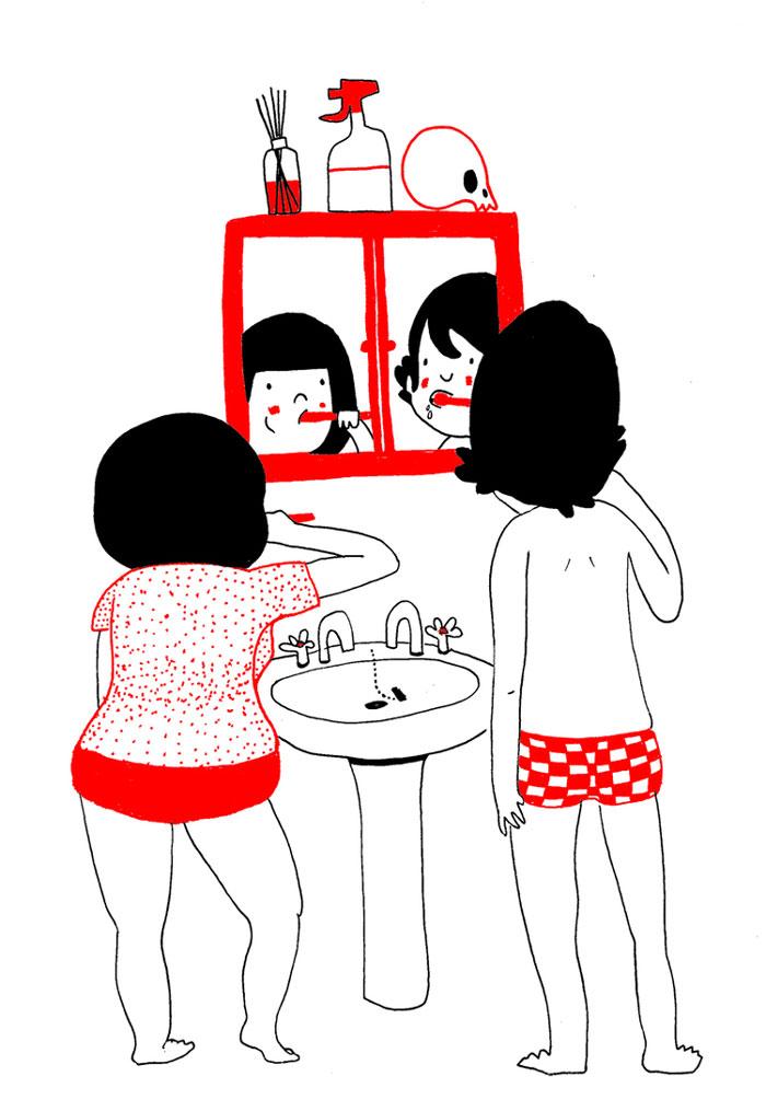 everyday love comics illustrations soppy philippa rice 331 - '소소한 사랑의 순간' 보여주는 '생활 밀착' 일러스트(사진 25장)