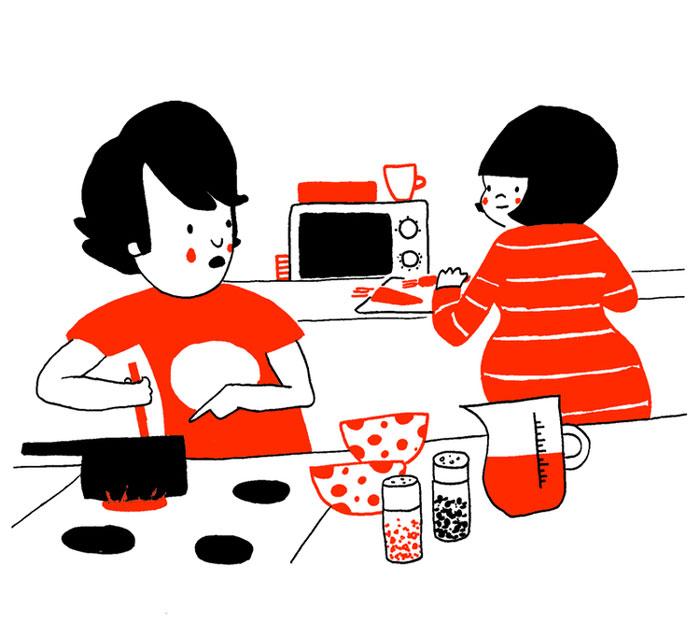 everyday love comics illustrations soppy philippa rice 341 - '소소한 사랑의 순간' 보여주는 '생활 밀착' 일러스트(사진 25장)