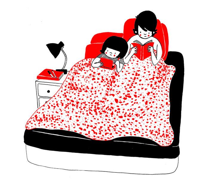 everyday love comics illustrations soppy philippa rice 351 - '소소한 사랑의 순간' 보여주는 '생활 밀착' 일러스트(사진 25장)
