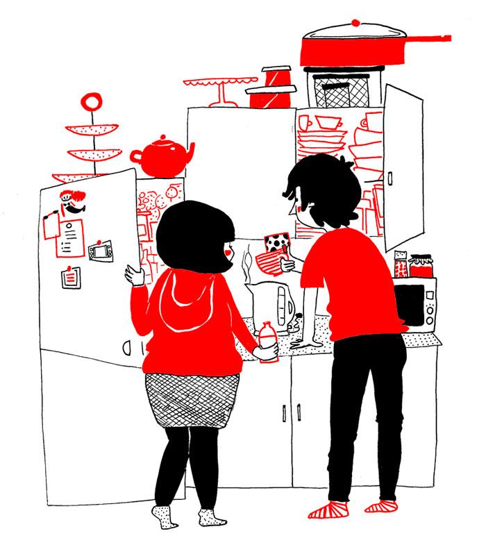 everyday love comics illustrations soppy philippa rice 361 - '소소한 사랑의 순간' 보여주는 '생활 밀착' 일러스트(사진 25장)