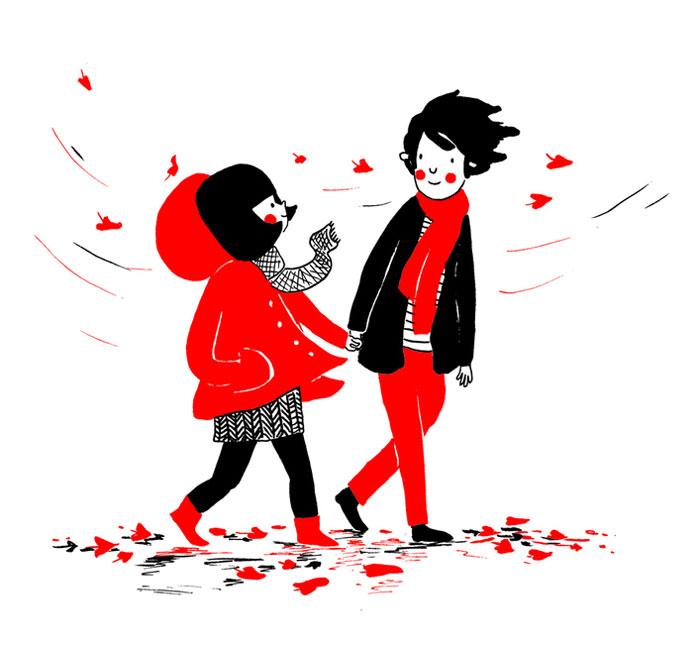 everyday love comics illustrations soppy philippa rice 421 - '소소한 사랑의 순간' 보여주는 '생활 밀착' 일러스트(사진 25장)