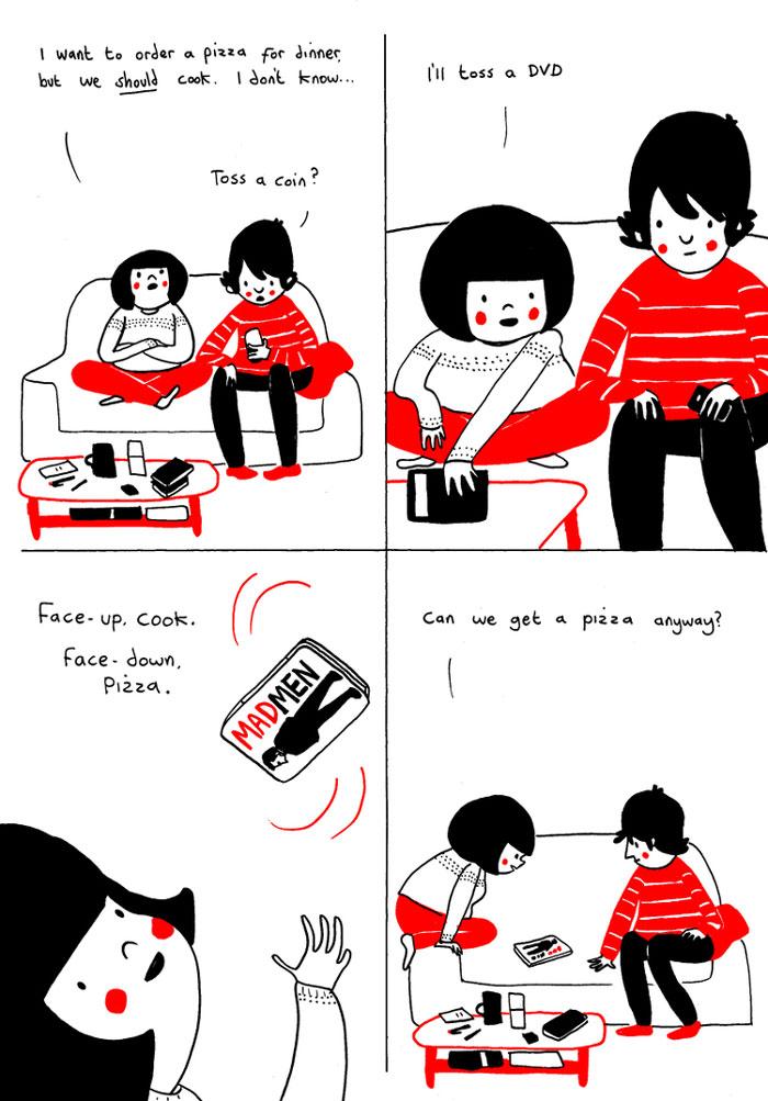 everyday love comics illustrations soppy philippa rice 610 - '소소한 사랑의 순간' 보여주는 '생활 밀착' 일러스트(사진 25장)