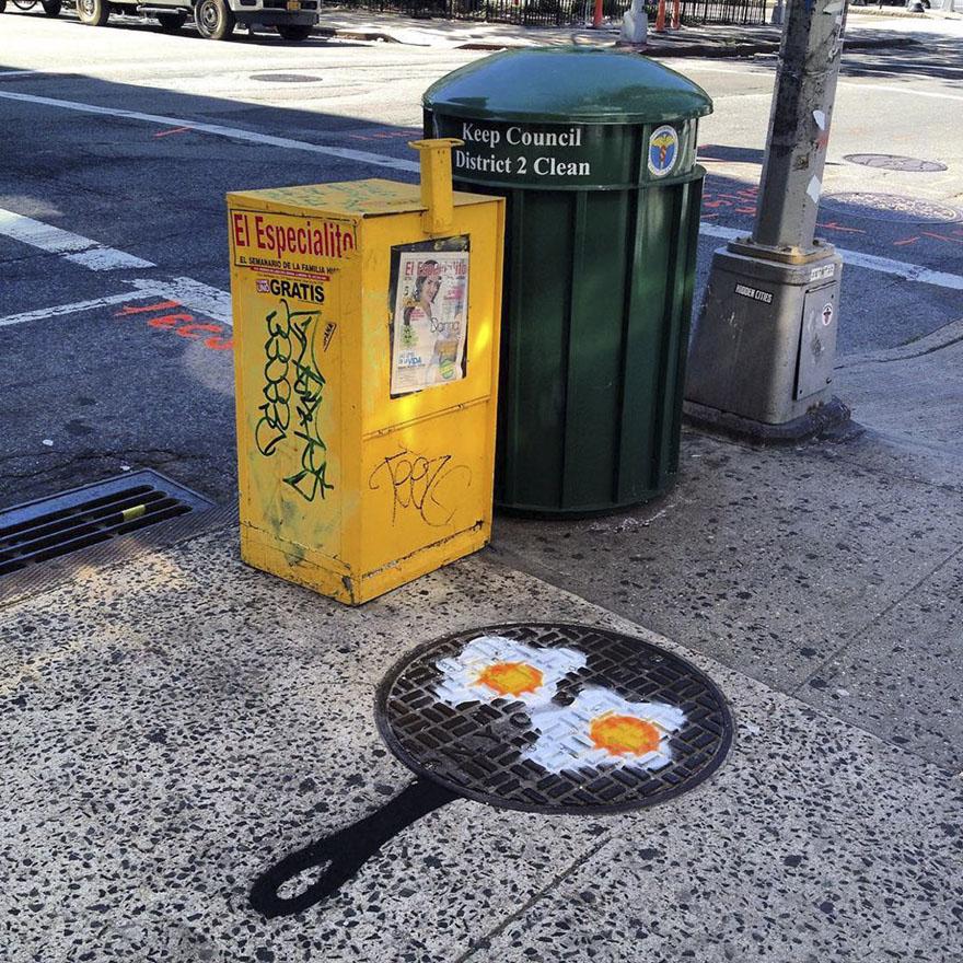 street art tom bob new york 22 59798583ab9d3  880 - 뉴욕의 천재 '거리예술가' 손에 재탄생한 길거리 (사진 25장)